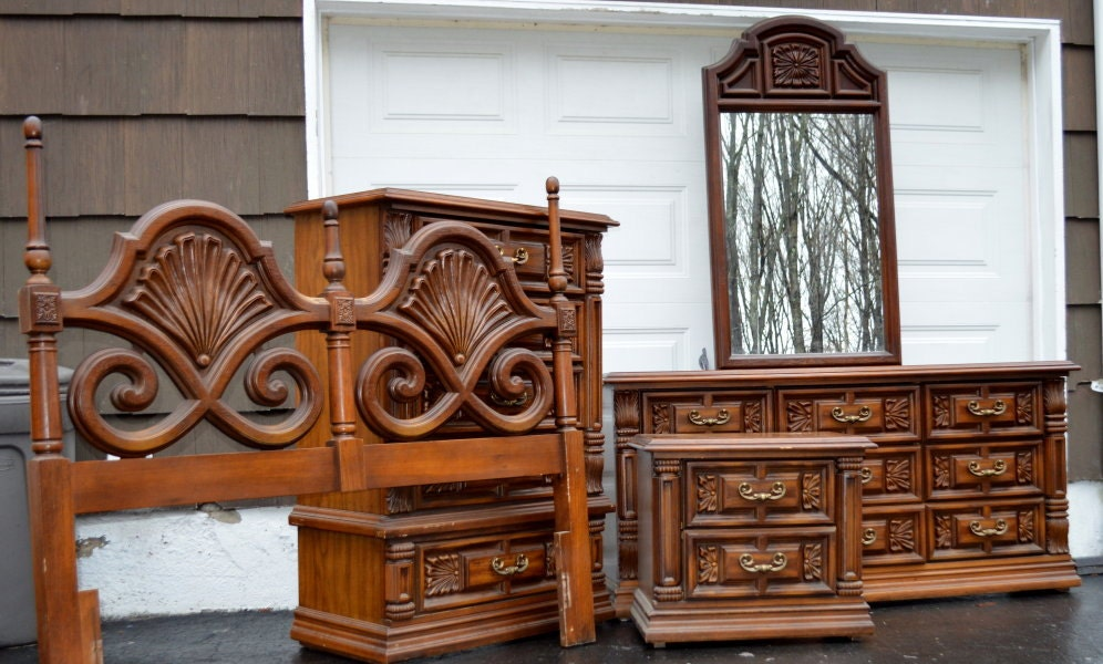 36 Antique Formal Sideboard Server Buffet By Vrdesigners