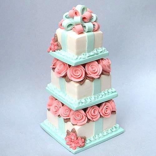 Dollhouse Design Cake : Dollhouse Miniature Wedding Cake Ideas and Designs