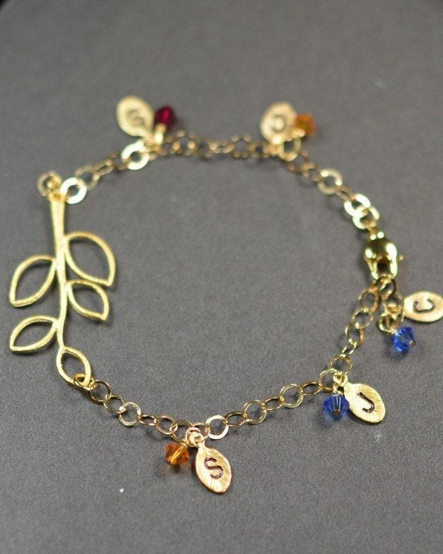 personalized jewelry grandmother bracelet 2 3 4 by