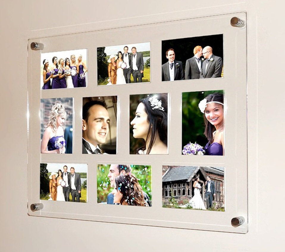 Photo Frames  Multi Picture Frames For Wedding