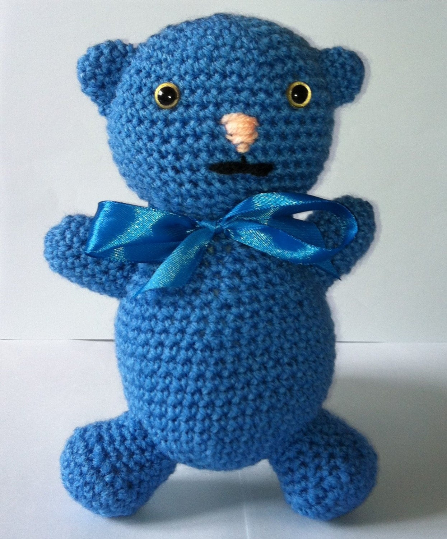 Amigurumi Teddy Bear Crochet Teddy Bear Teddy Handmade Soft Toy