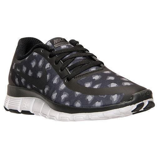 44c649157a15 CHEETAH Nike Free Run 5.0 V4 Print Shoes Black by MyBlingThingz free  shipping