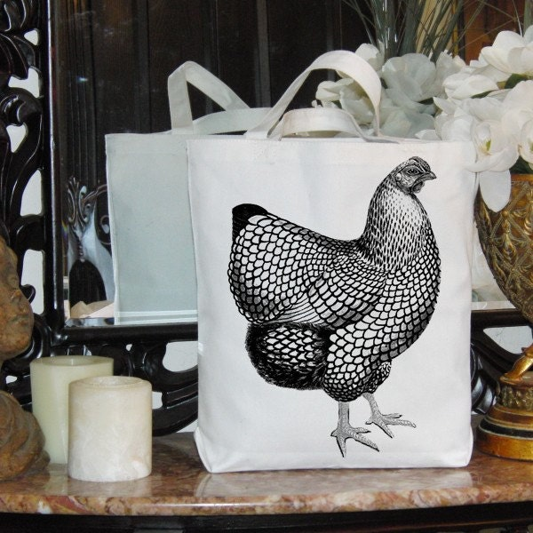 Burlap Digital Download French Black White Rooster Bird Digital Collage Sheet Fabric Transfer To Pillows Totes Tea Towels.1379