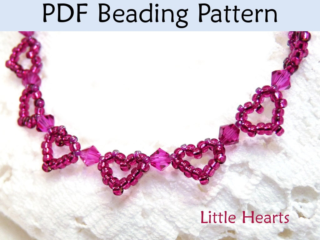seed bead bracelet patterns and instructions