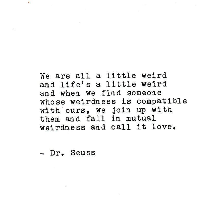 Dr seuss love quotes
