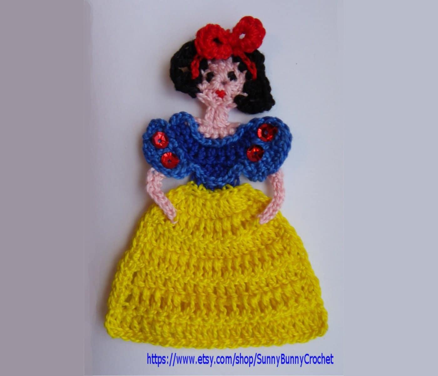 free disney 7 dwarfs crochet patterns