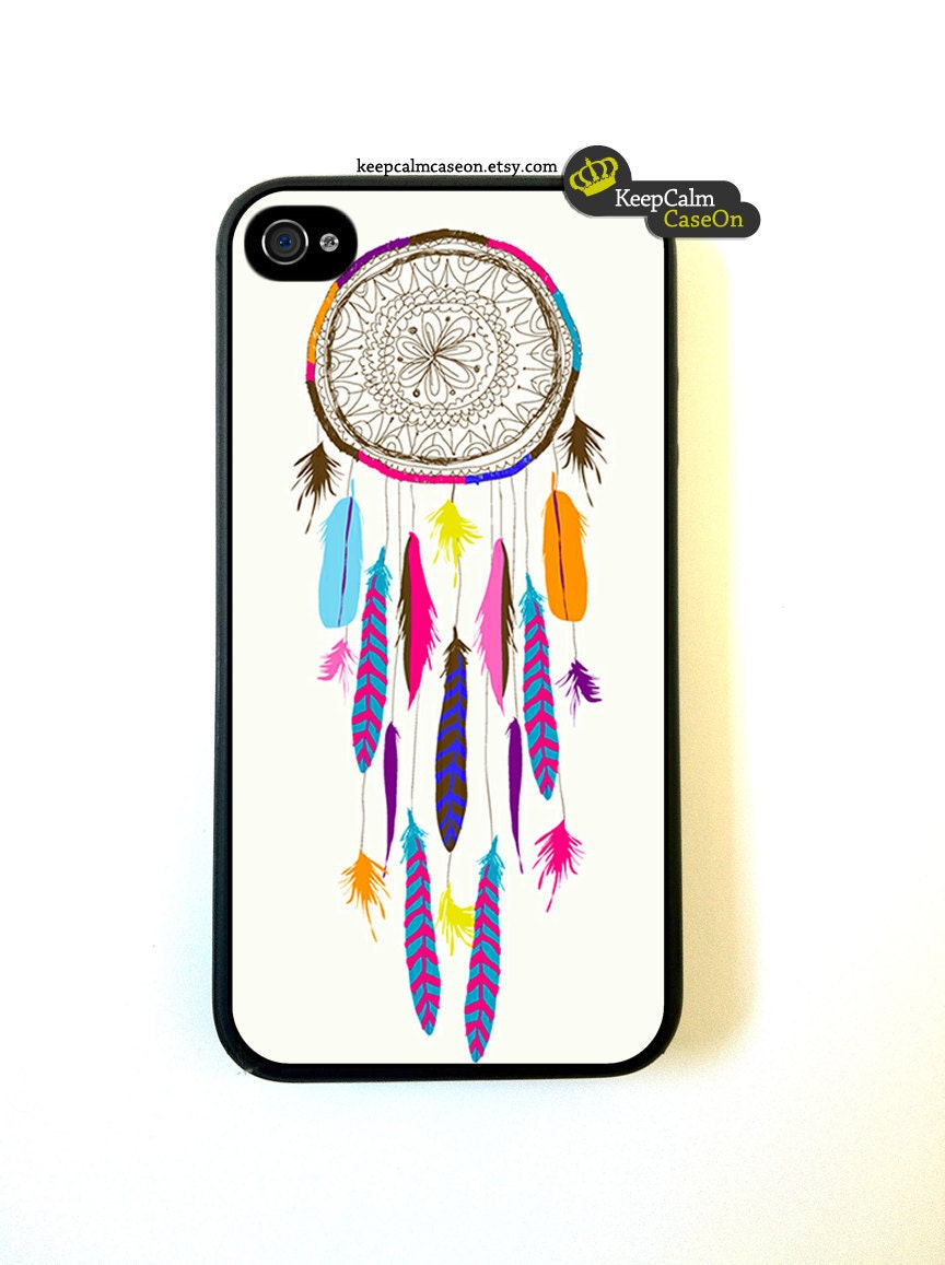 iPhone 4 Case, Dream Catcher iPhone Case Hard Fitted Case For iphone 4 & iphone 4S.