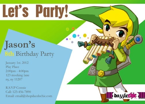 Electronic Party Invitation is adorable invitations design
