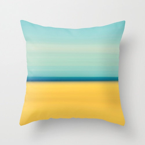 Pale Yellow Throw Pillow Cover : Yellow Pillow Decorative Pillow Cover Pale Yellowblue Plaid Cushion Bed Mattress Sale