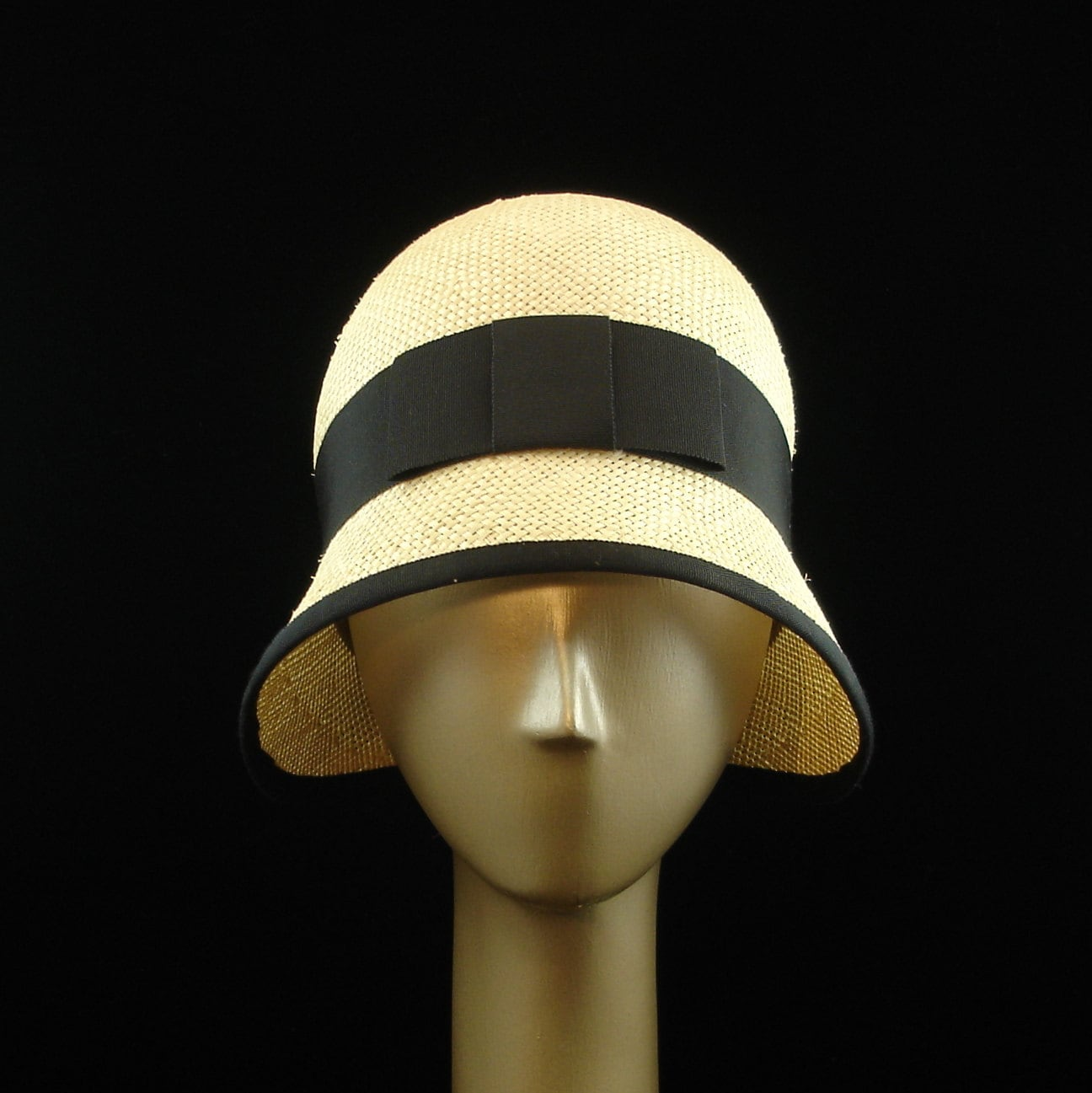 new cloche hat for 1920s fashion hat by themillineryshop