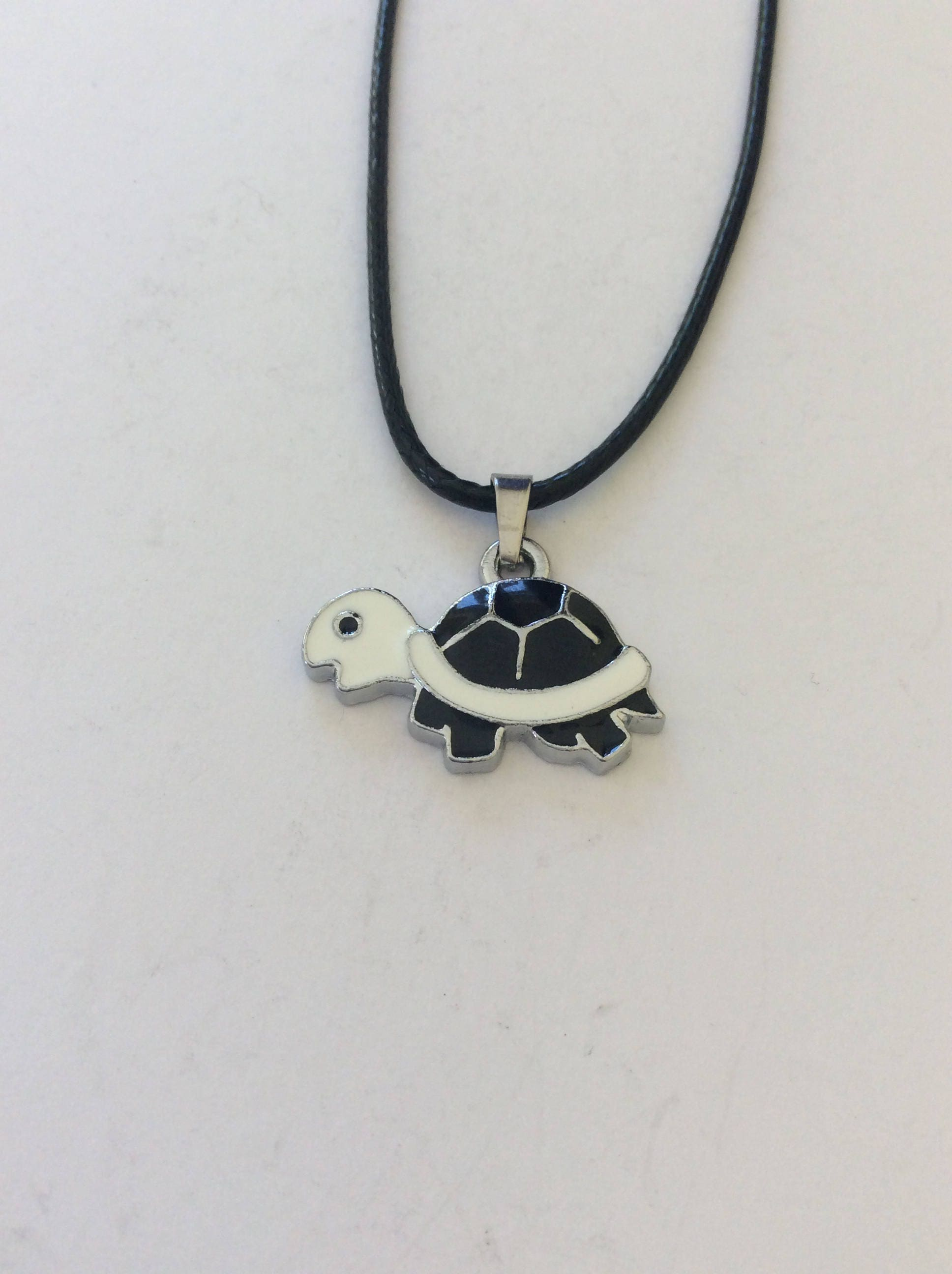 Childrens turtle necklace  turtle jewellery  childrens animal jewellery  childrens jewellery  childrens gift