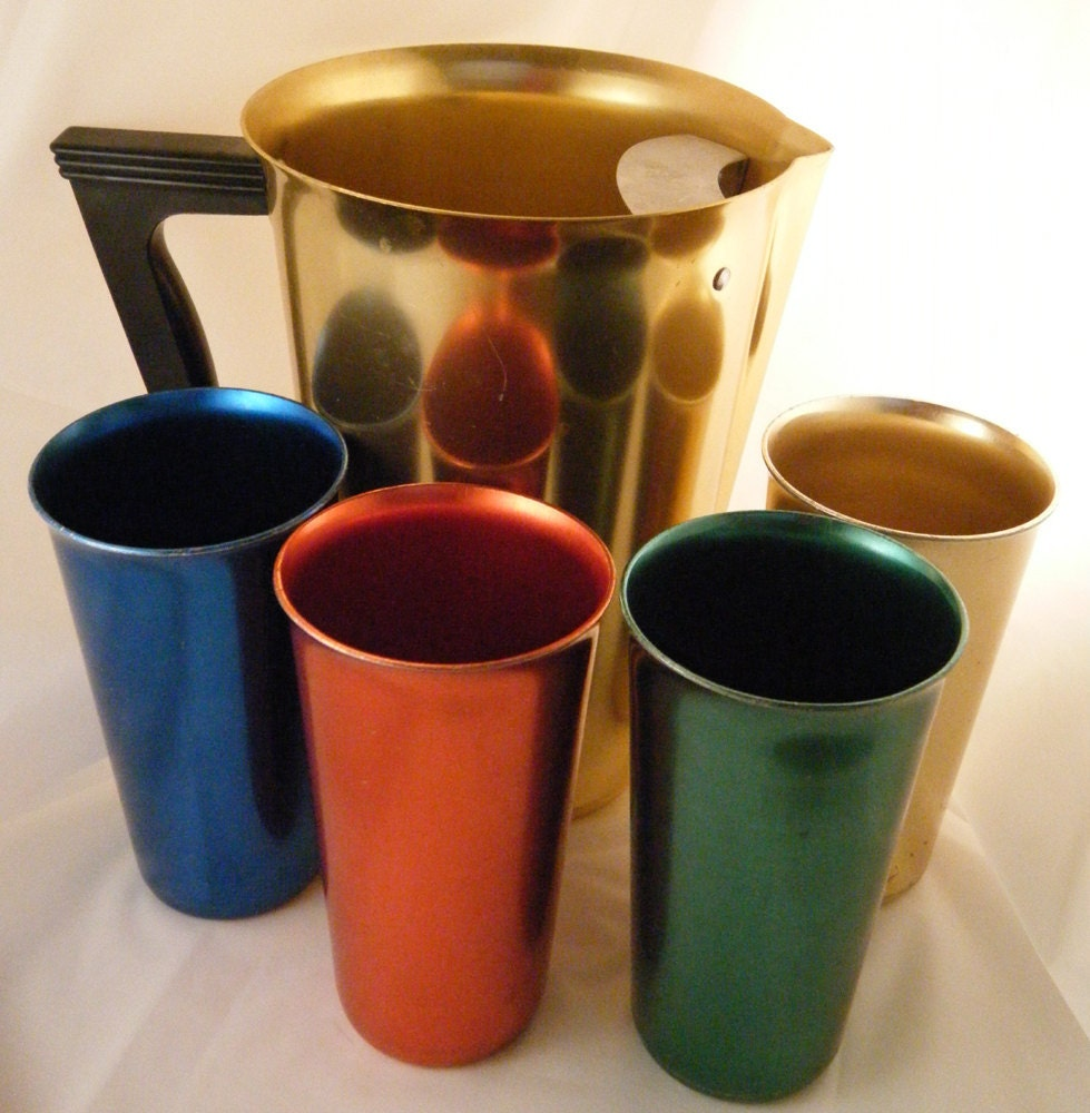 Old Fashioned Aluminum Tumblers