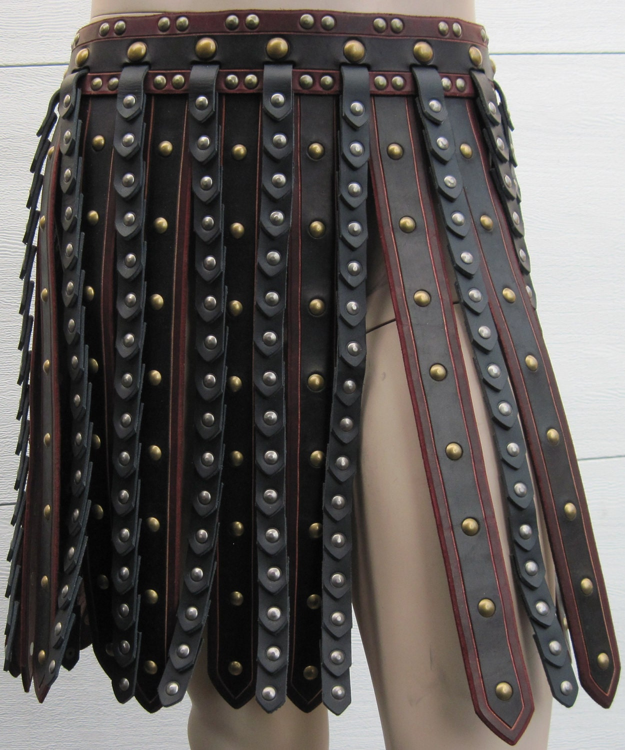 deluxe gladiator leather armor war by