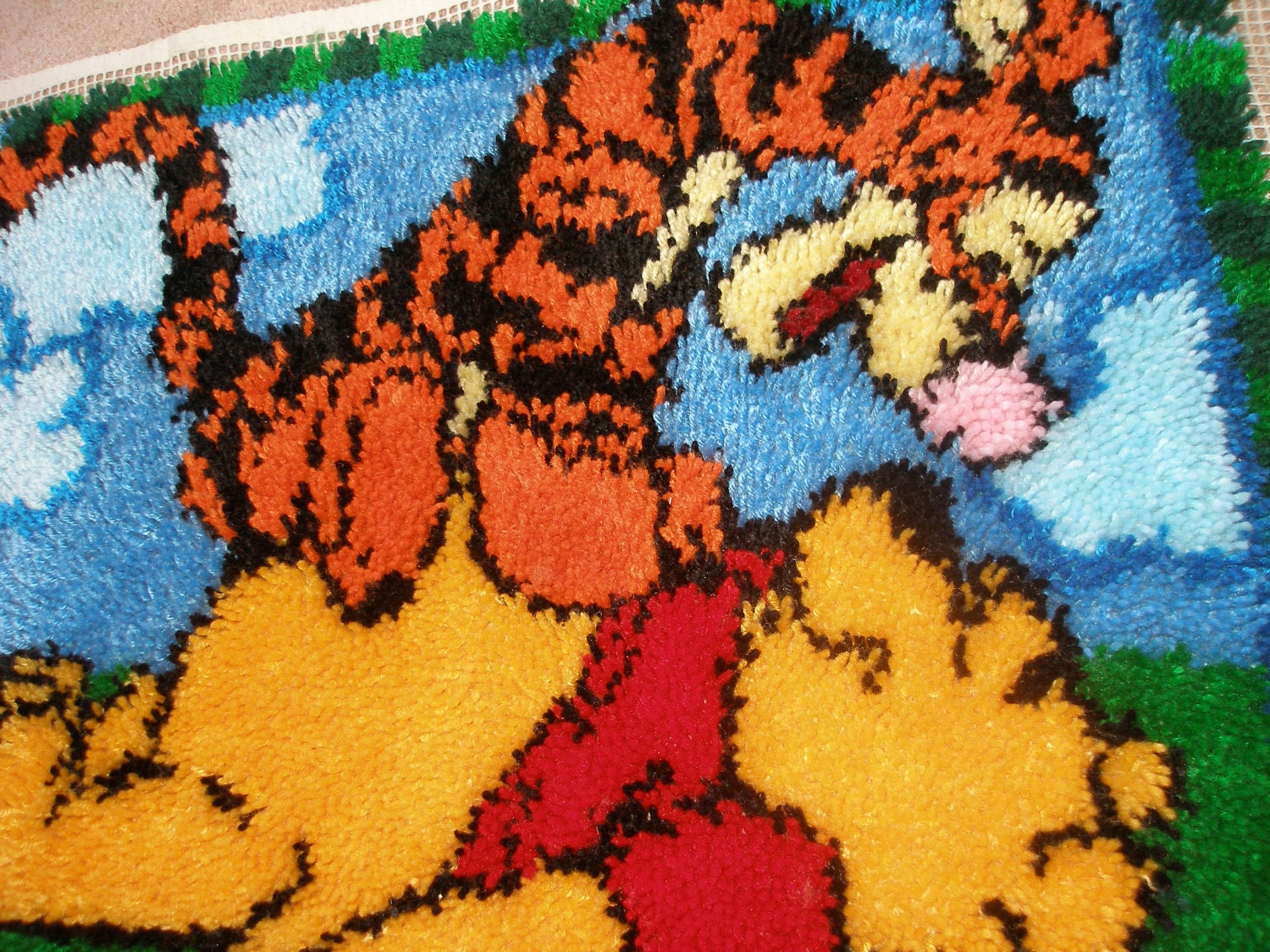 Items Similar To New Winnie The Pooh Amp Tigger Tapestry Rug