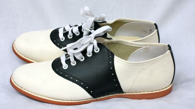 black and white saddle shoes biltrite sole womens by