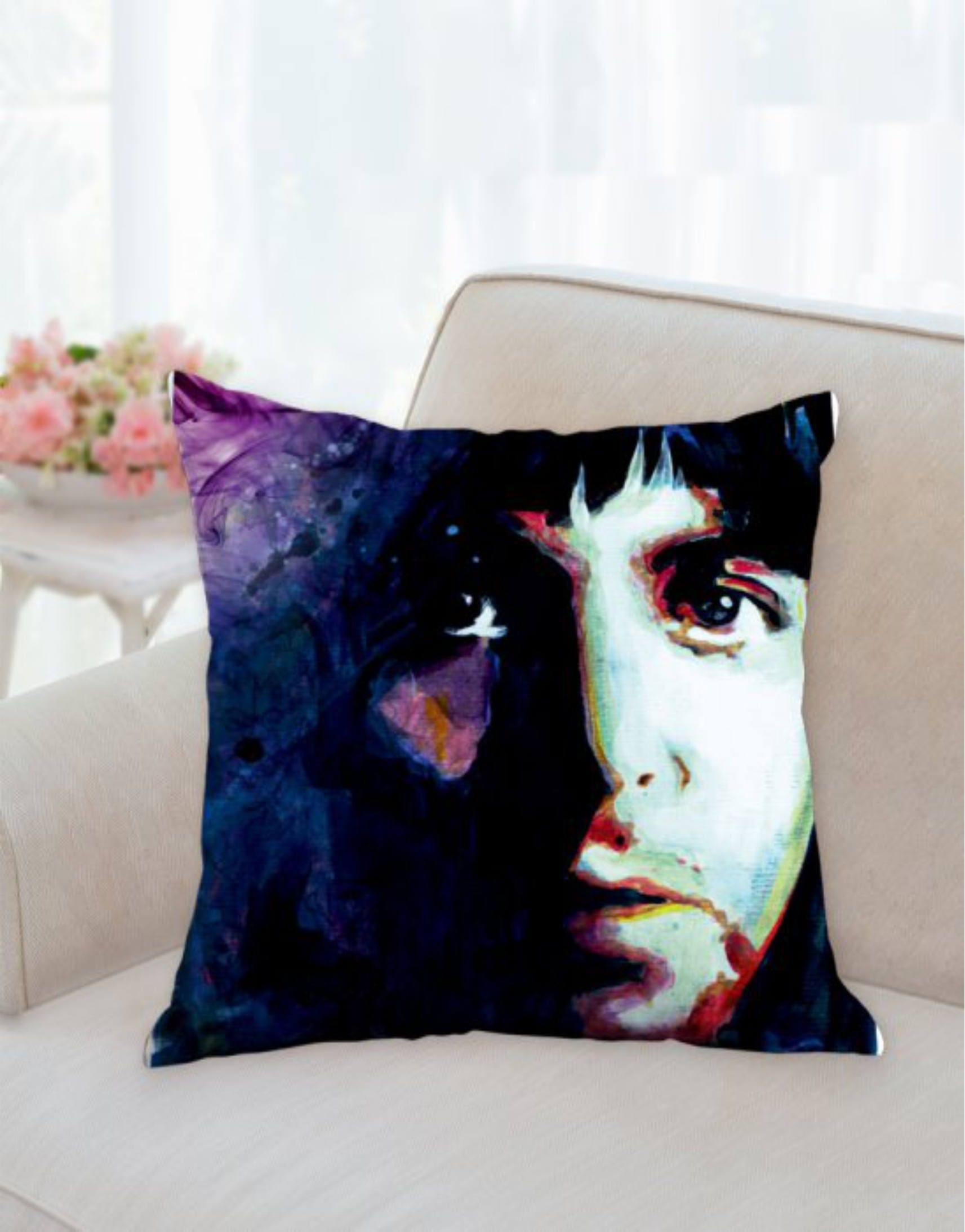 beatles pillow beatles cushion poul mccartney pillow beatles gift beatles decor beatles pillow cases the beatles pillow designer cushion