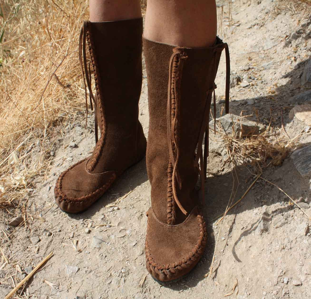 womens moccasin boots indian summer mok us size 8 to by