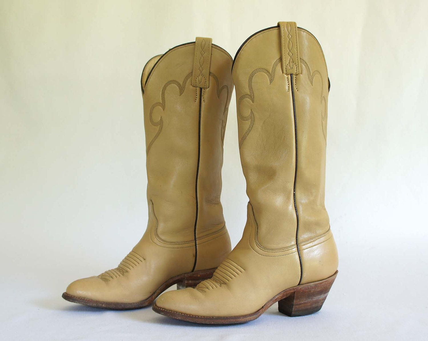 vintage cowboy boots by j chisholm in a by