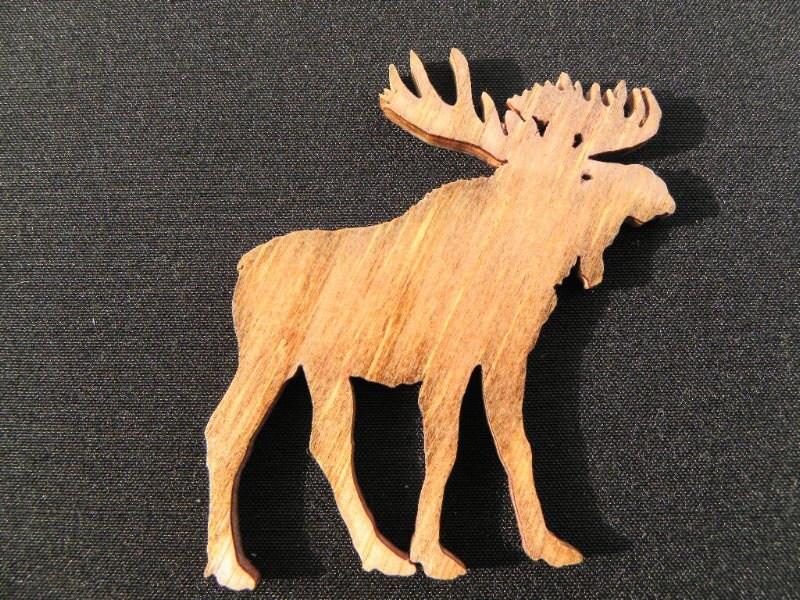 Moose Bull Moose Moose Cut Out Moose Ornament By