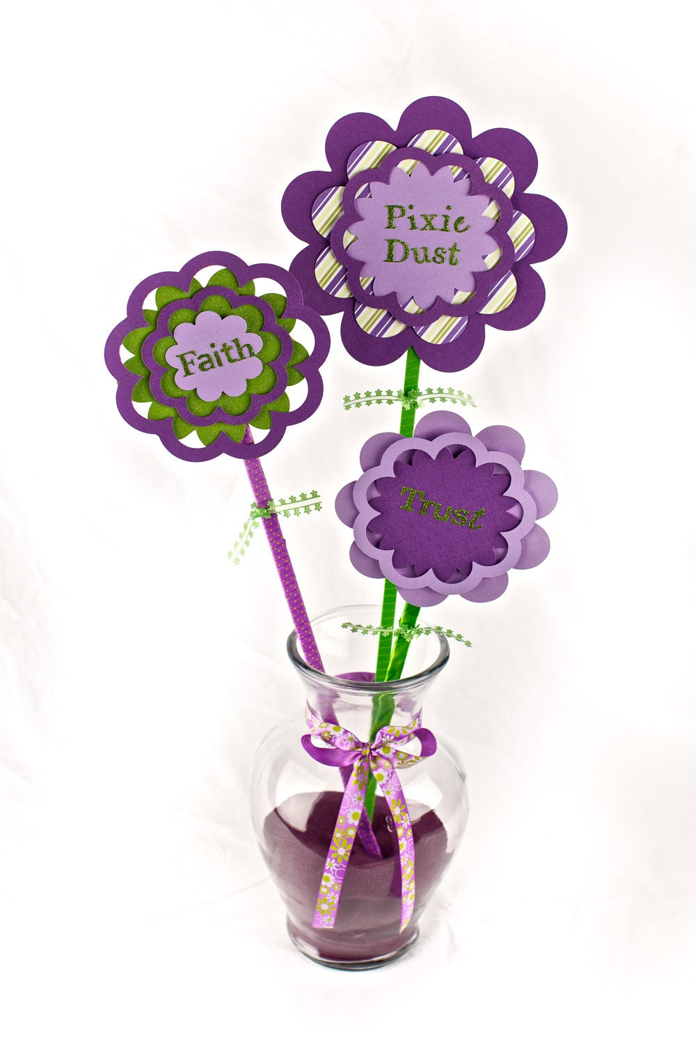 Items similar to birthday party centerpiece vase