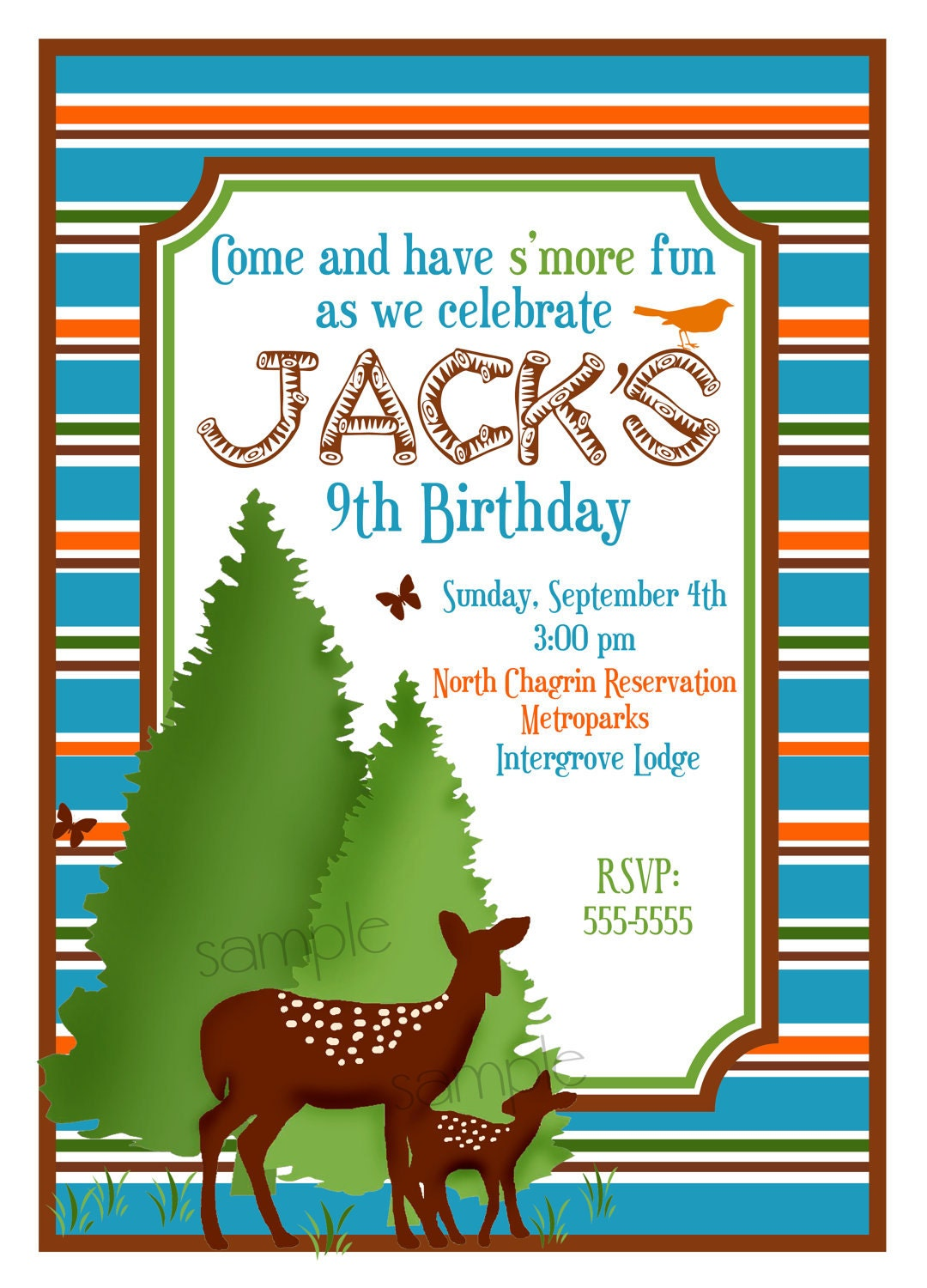 Camping Birthday Party Invitations is an amazing ideas you had to choose for invitation design