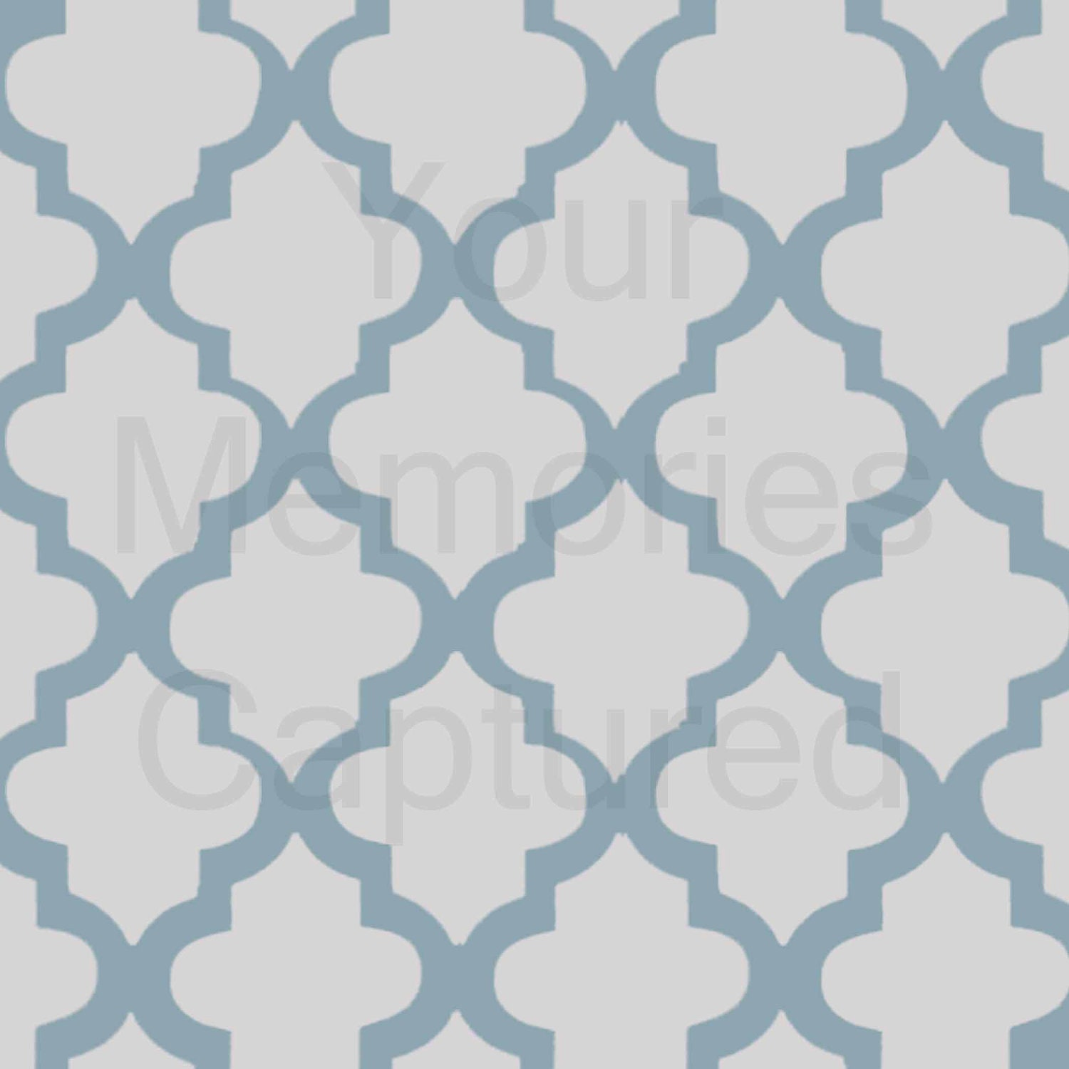 Moroccan tile pattern curtains - Moroccan Tile Pattern Reusable Stencil For Fabric Wood Paper
