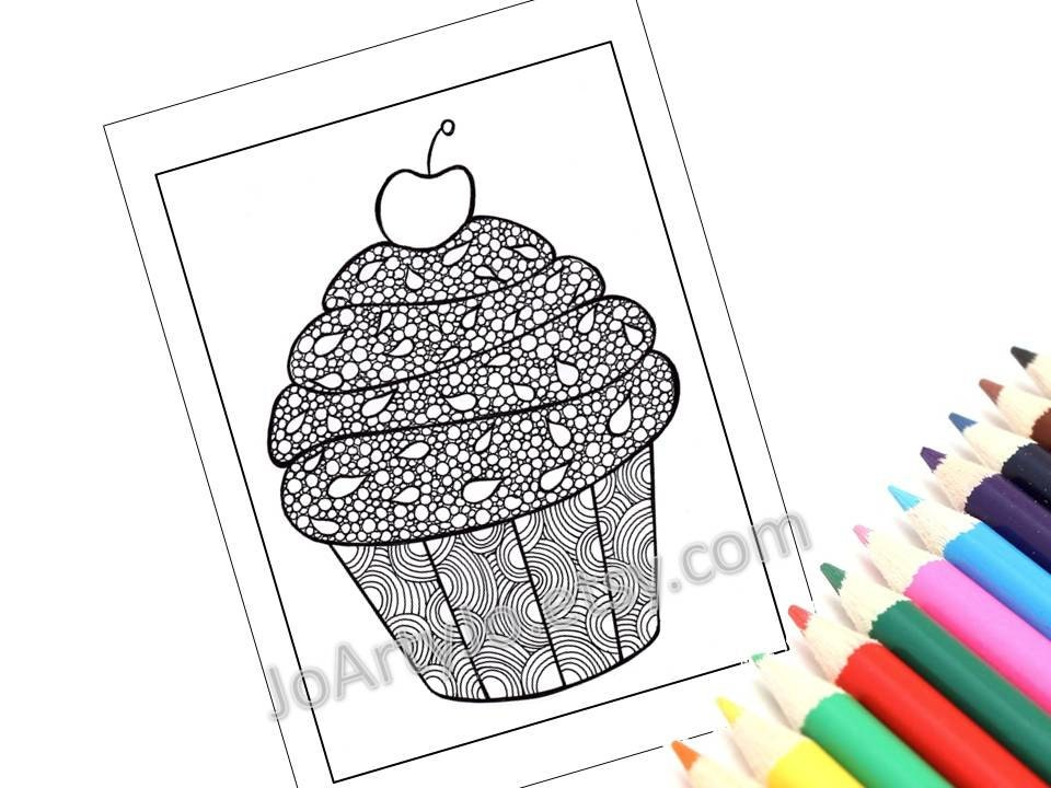 FUN COLORING BOOKS CLIP ART PRINTABLES ART by ChubbyMermaid