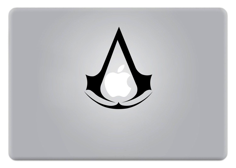 Assassins Creed Apple Mac Laptop Sticker