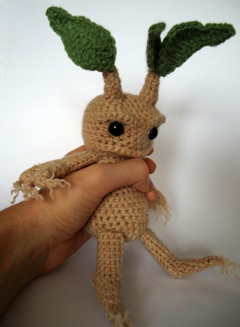 Amigurumi Mandrake : Mandrake Amigurumi Crochet Pattern by MrFox on Etsy
