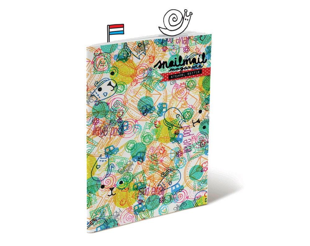 Leuk, Handgemaakt, Inspiratievol Snailmail magazine, Stempel editie (Nederlands)