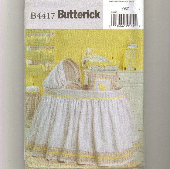 Bassinet Skirt Pattern 50