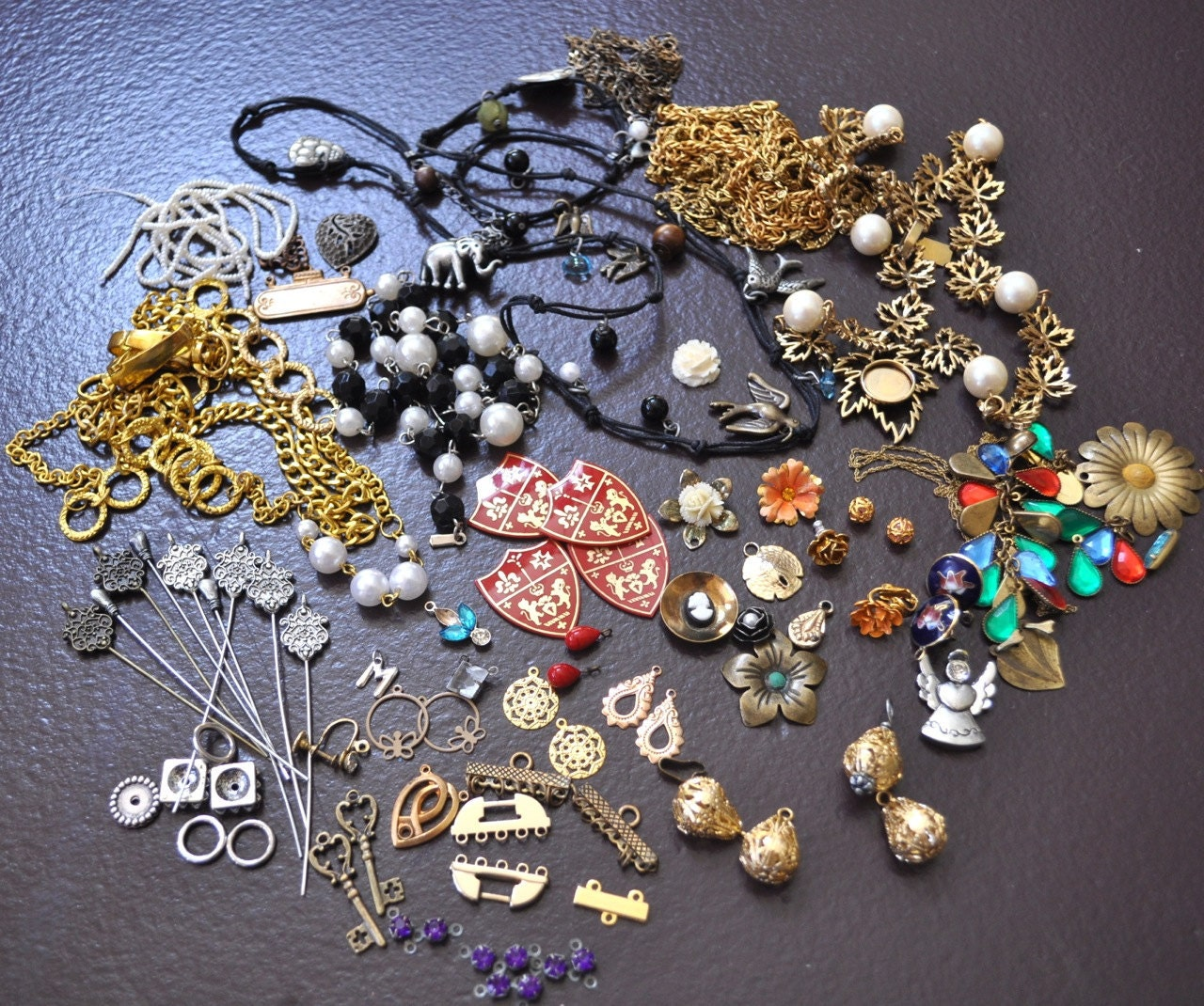 Vintage Jewelry Making Supplies 60