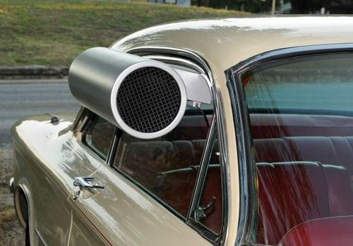 Classic Car Swamp Cooler Window