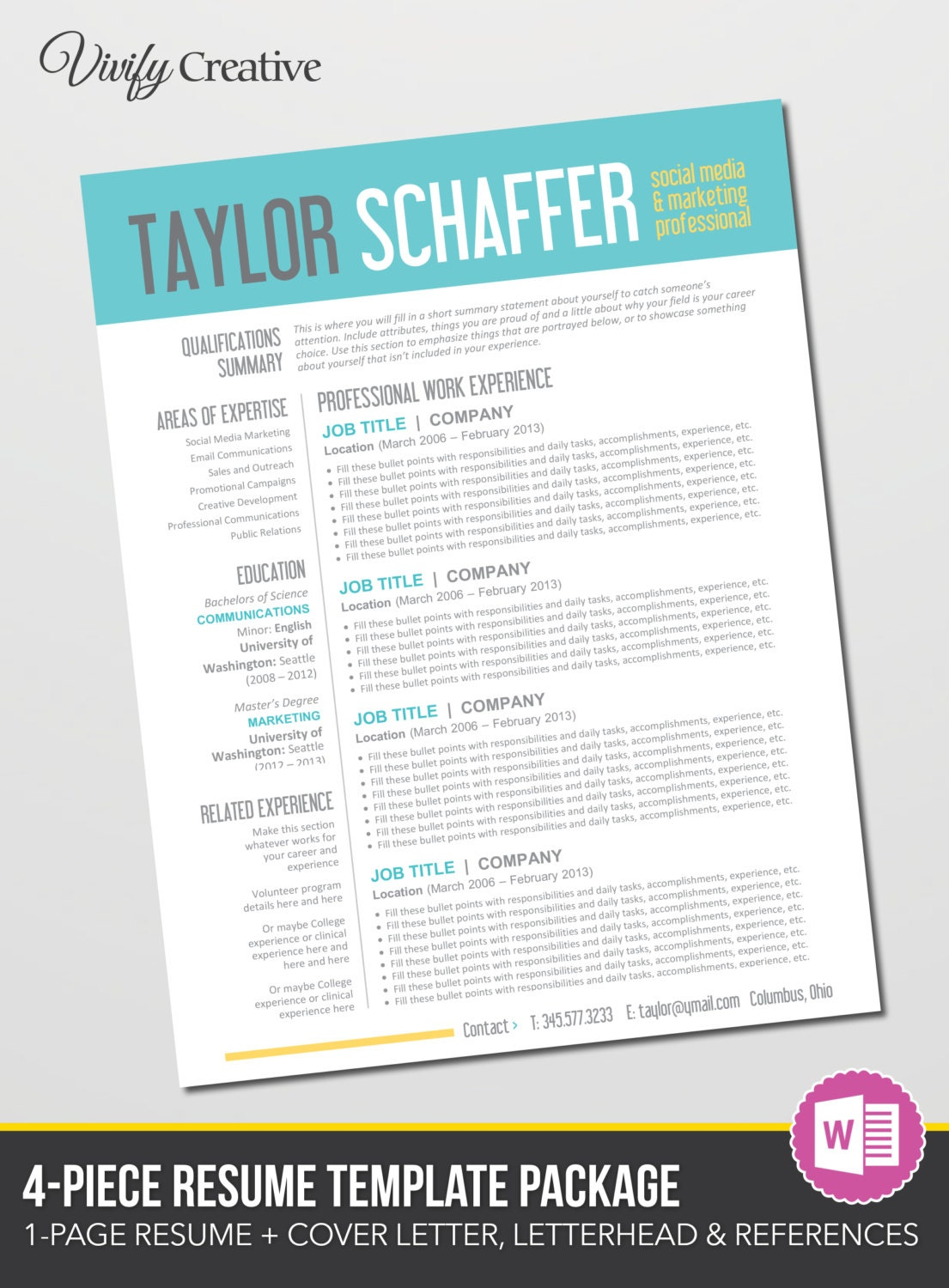 Editable resume in word format spiritdancerdesigns Image collections