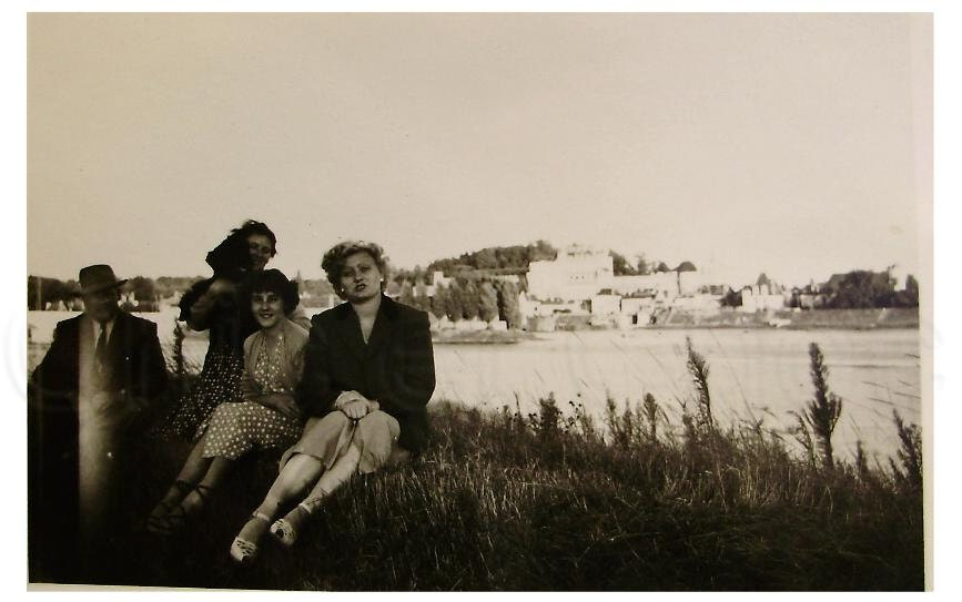 Vintage French Photo - By the Lake - ChicEtChoc