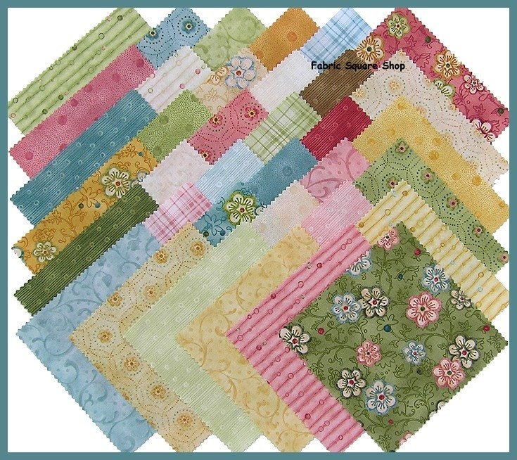 Nancy Halvorsen Garden Song Fabric Charm Pack By