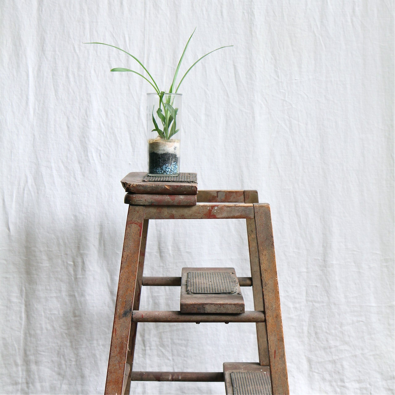 vintage industrial kitchen step stool by ethanollie on etsy