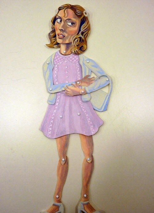 Janet Rocky Horror Picture Show Paper Puppet Doll Susan Sarandon - FamousArtistsClub