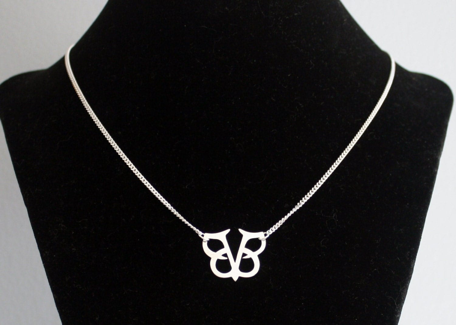 Black veil brides logo star necklace