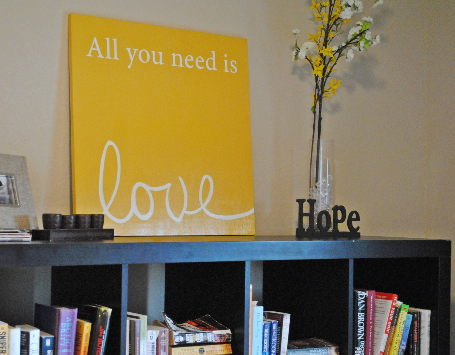 all you need is love lyrics sign  from pbjstories