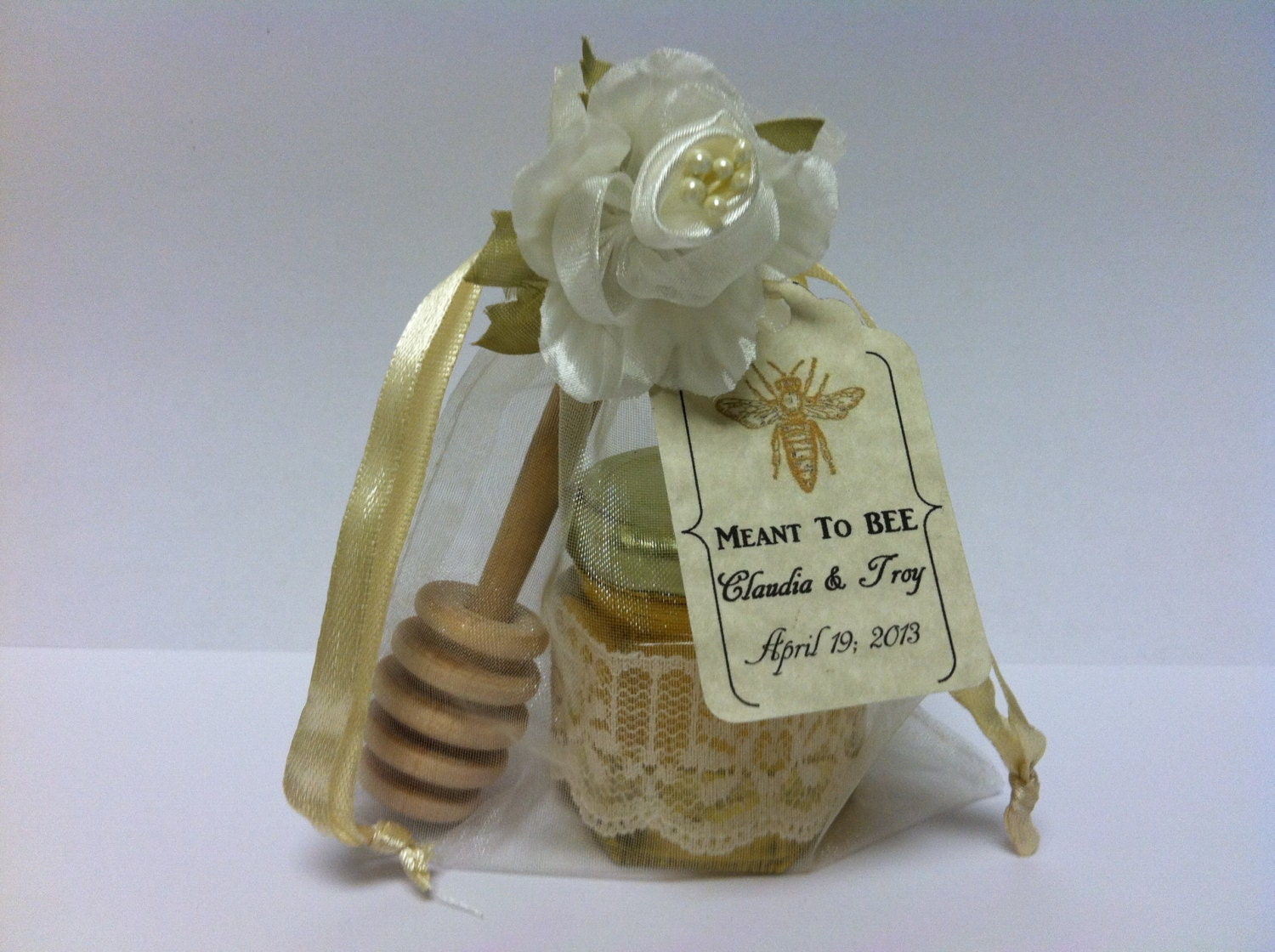 Meant to bee shabby chic victorian wedding tea party by for Victorian tea party favors
