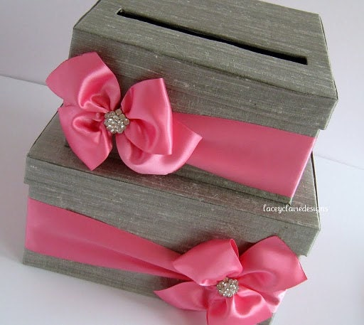 Wedding Card Box Wedding Money Box Wedding By LaceyClaireDesigns