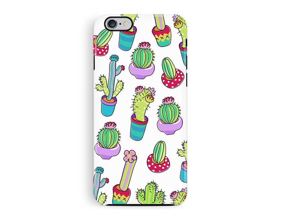 CACTUS iPhone Case Mexican iPhone Case South American iPhone case garden print iphone case girly phone case flower print iphone case