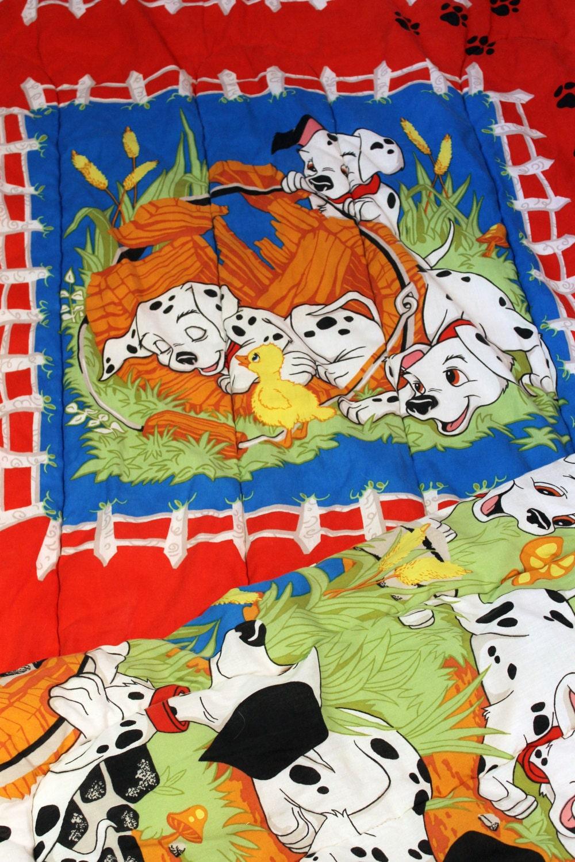 Disney Vintage 101 Dalmatians Bedspread By Rerundesign On Etsy
