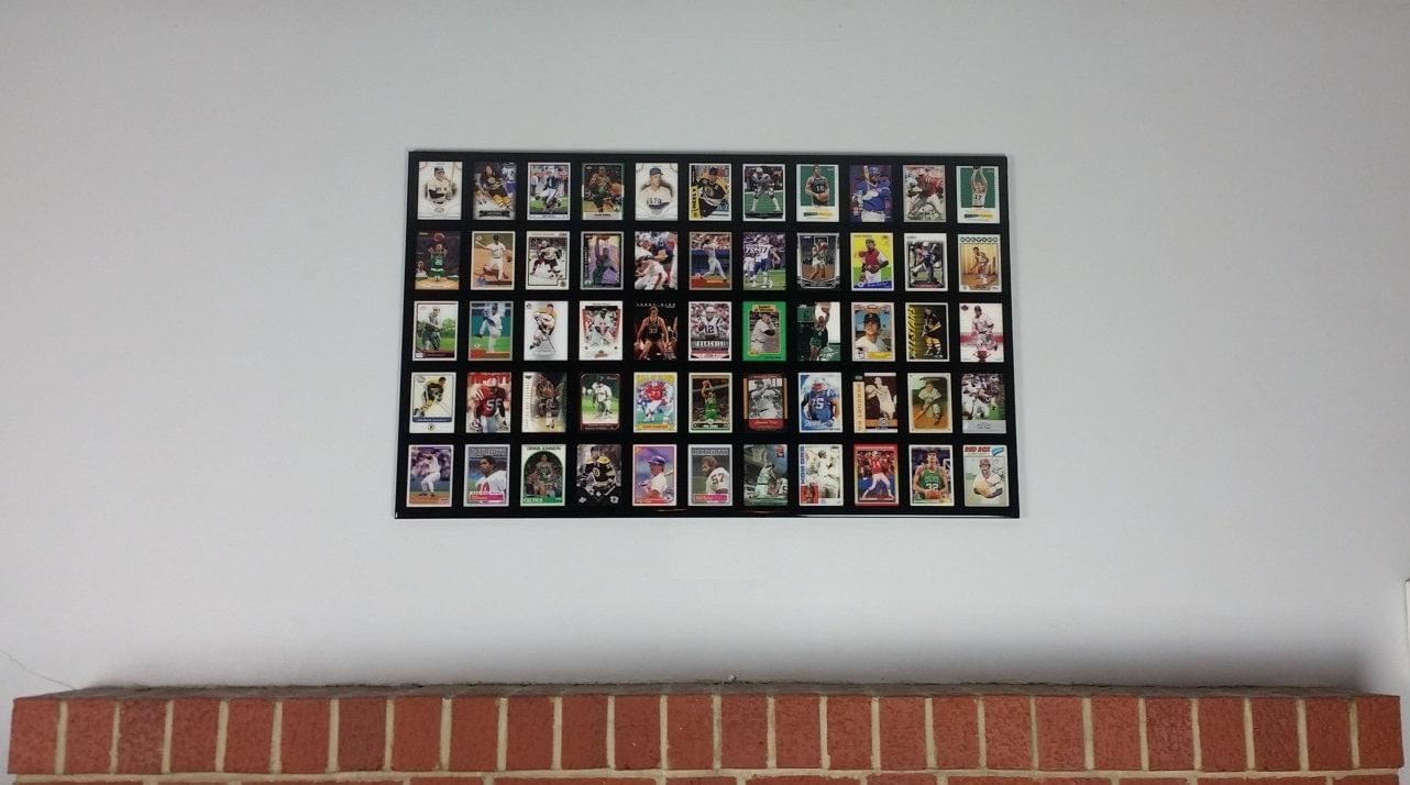 Amazoncom baseball card display frame
