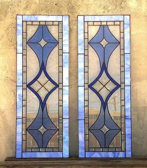Kitchen Cabinets With Stained Glass: Stained Glass Cabinet Inserts Bevels And By