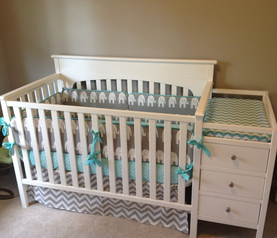 Crib Bedding Baby Bedding Crib Set Gray By