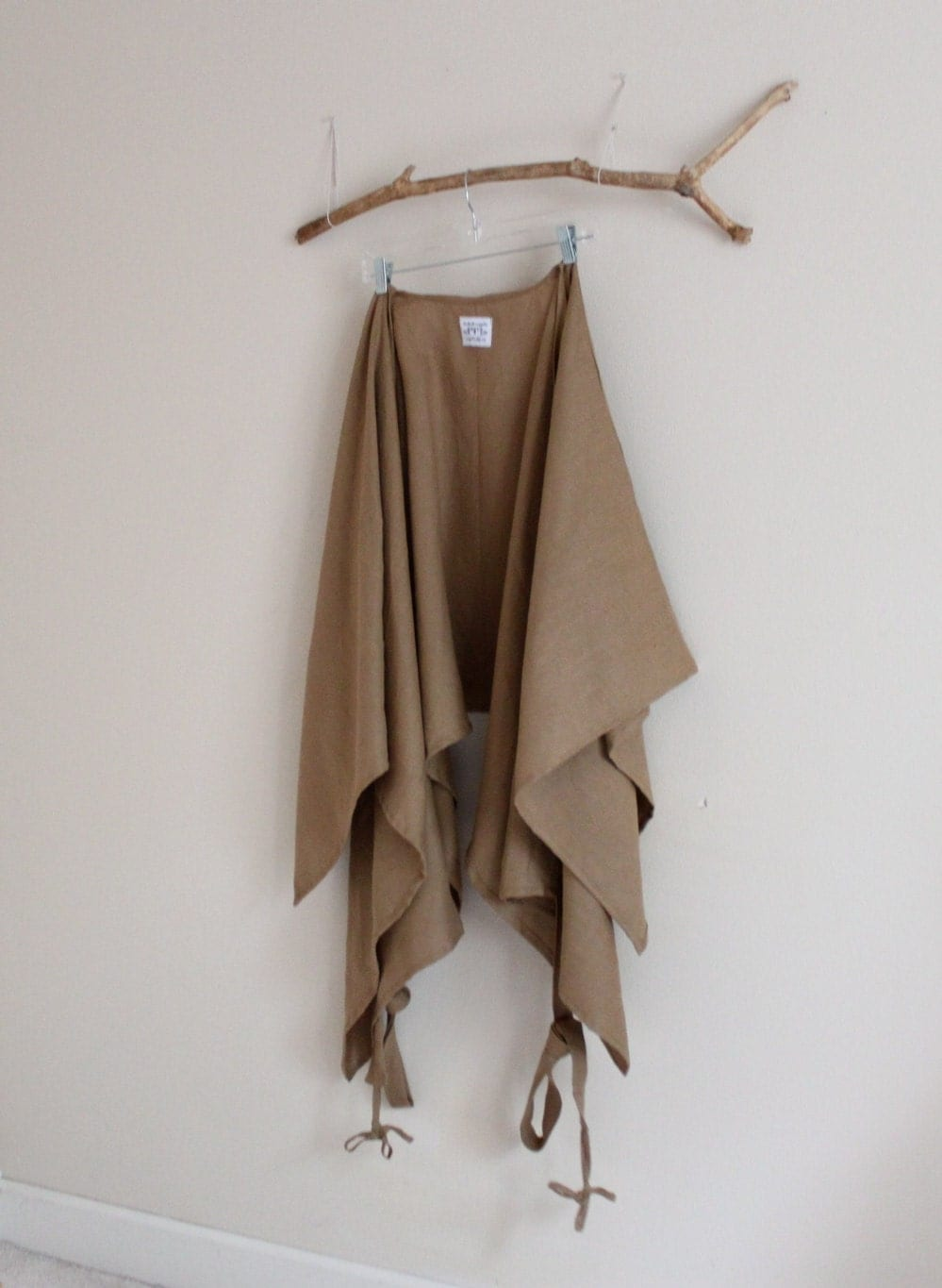 ginger  linen mysterious versatile wrap free size ready to ship - annyschooecoclothing
