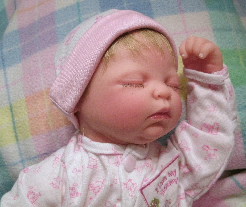 Reborn Baby Doll Zoe Fake Baby Lifelike Vinyl By Sheekydoodle