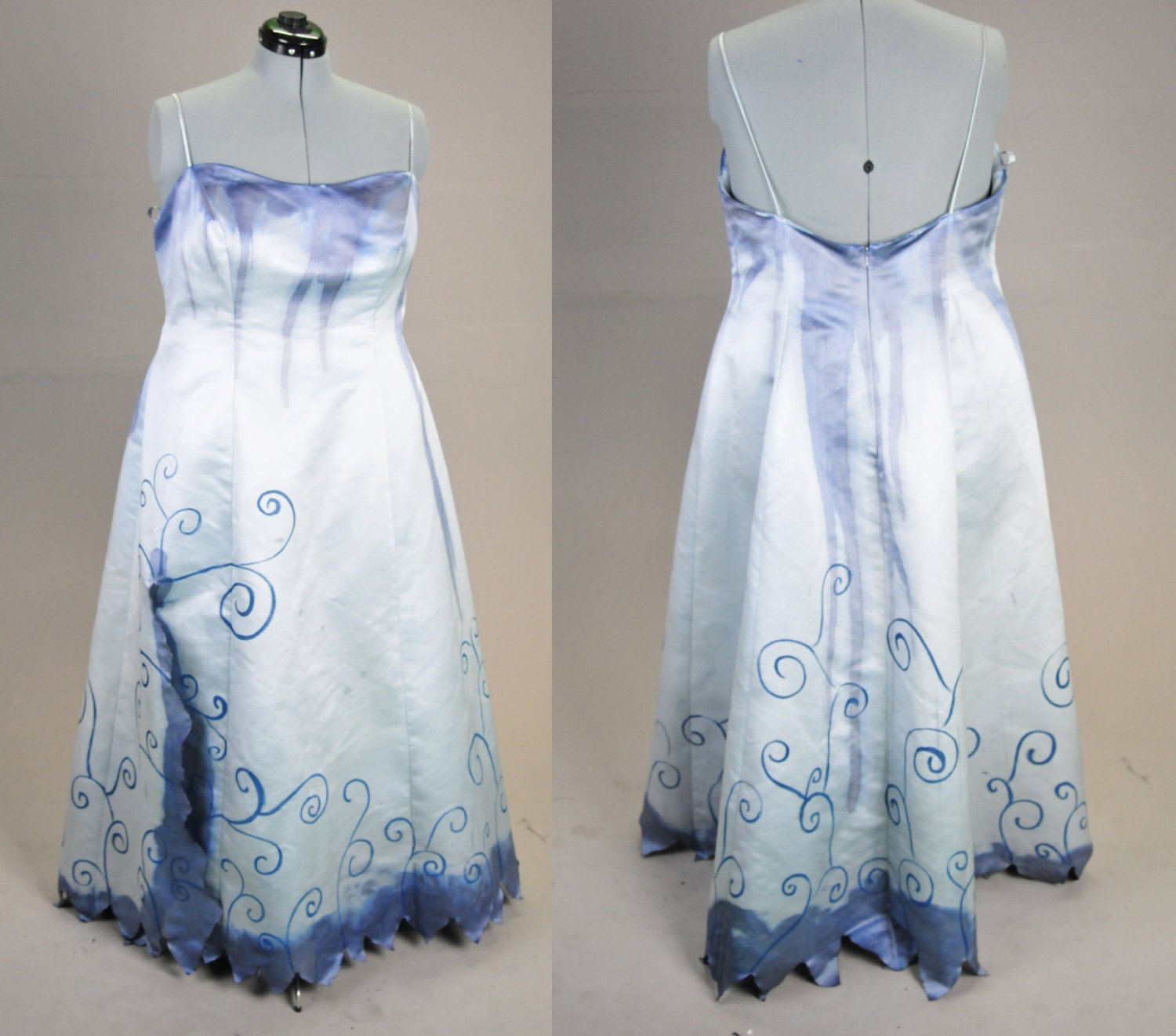 Unavailable listing on etsy for Corpse bride wedding dress for sale